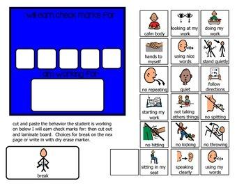Behavior Token Boards and Visuals
