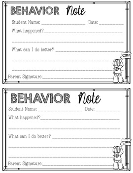 Behavior Book- A Classroom Management Plan {EDITABLE}