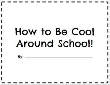 Behavior Book for the Beginning of the Year - Editable