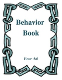 Behavior Book with Tracking Chart