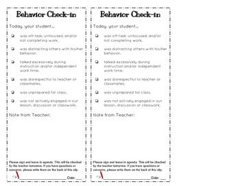 Behavior Bookmark