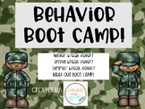 Behavior Boot Camp!