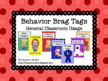 Behavior Brag Tags