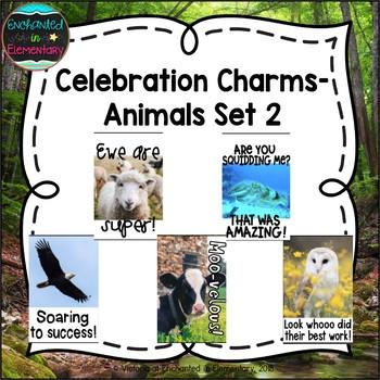 Behavior Brag Tags- Animals Set 2