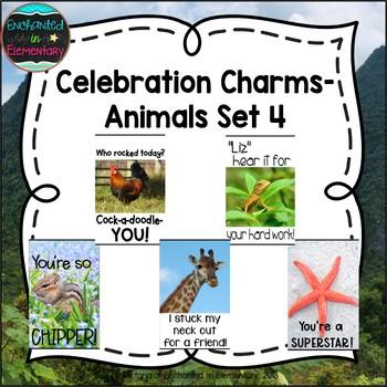 Behavior Brag Tags- Animals Set 4