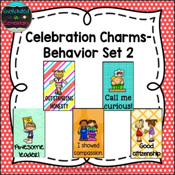 Behavior Brag Tags- Set 2