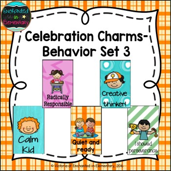 Behavior Brag Tags- Set 3