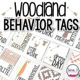 Reward Tags - Woodland Theme
