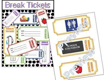 Behavior Break Tickets BUNDLE  - Sets A AND B!!