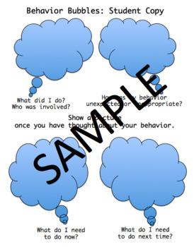 Behavior Bubbles
