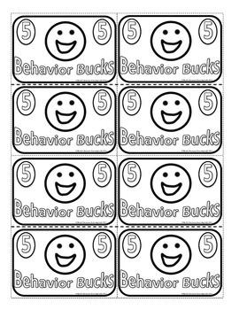 Behavior Bucks