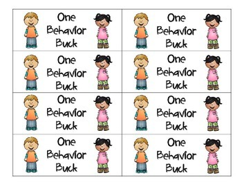 Behavior Bucks- A behavior management system