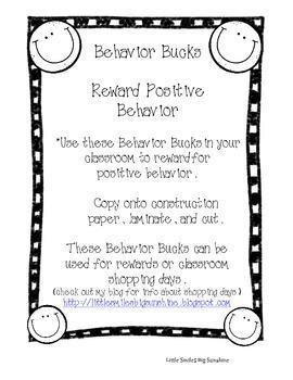 Behavior Bucks - Positive Reward Coupons