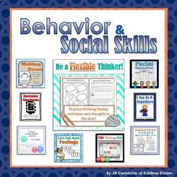 Behavior & Social Skills Bundle: Strengthen Emotional Inte