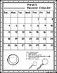 Behavior Calendar 2017-2018! Dr. Seuss Inspired {No Color Chart}