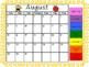 Behavior Calendar