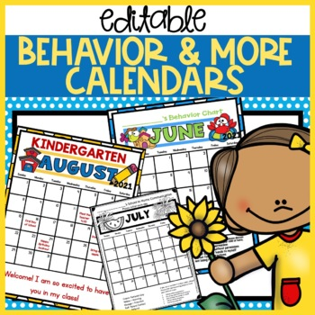 Behavior Calendars 2017-2018