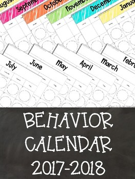 Behavior Calendar: Engaging Students in Tracking Their Behavior