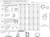 Behavior Calendar Reflection Sheets-Responsive Classroom/G