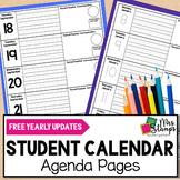 Behavior Calendar | Weekly Parent Communication Log