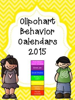 Behavior Calendars 2015
