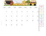 Behavior Calendars 2016-2017 - Editable