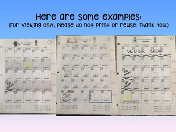 Behavior Calendars (ALL Months!)