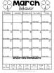 Behavior Calendars (Editable) 2016-2017