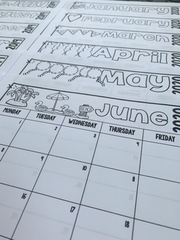 Behavior Calendars: Editable & Non-Editable (W/ Behavior Codes!) Included