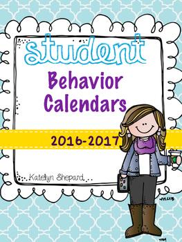 Behavior Calendars (Personalized Upon Request)