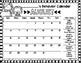 Behavior Calendars FREE (Editable) 2016-2017 School Year