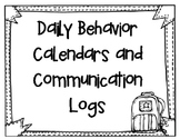Behavior Calendars and Communication Calendars