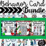 Behavior Card Bundle:  Visual Supports for Early Childhood