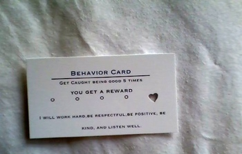 Behavior Cards