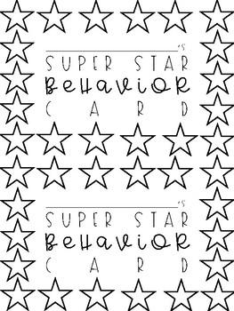 Behavior Cards