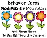 Behavior Cards - April Edition (Get Students Back On Task)