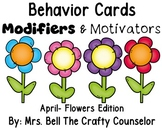 Behavior Cards - April Edition (Get Students Back On Task)