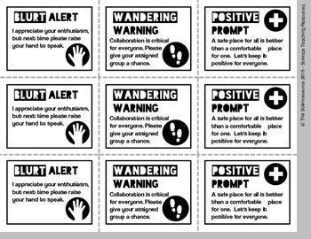 Behavior Cards & Badges