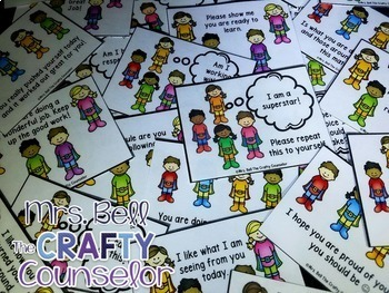 Behavior Cards Bundle (10 packs, 360 Cards) Monthly Behavior Cards