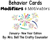 Behavior Cards - January Edition (Get Students Back On Task)