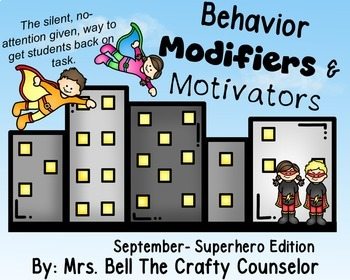 Behavior Cards - September Edition (Get Students Back On Task)