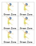 Behavior Cards: Zones of Regulation