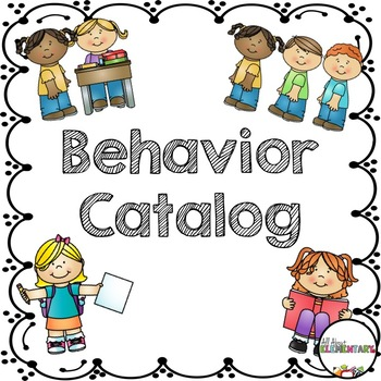 Behavior Catalog Pack