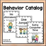 Behavior Catalog Pack