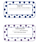 Behavior Certificates