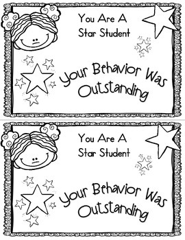Behavior Reward Certificates In A Hurry! (Just Print & Go)