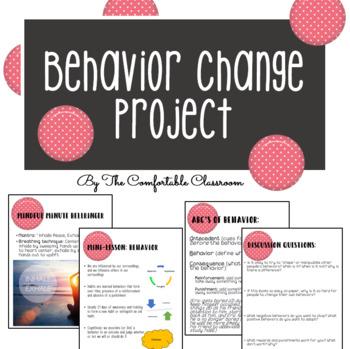 Psychology: Behavior Change Mini-Unit with Project