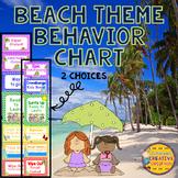 Beach Behavior Chart Editable