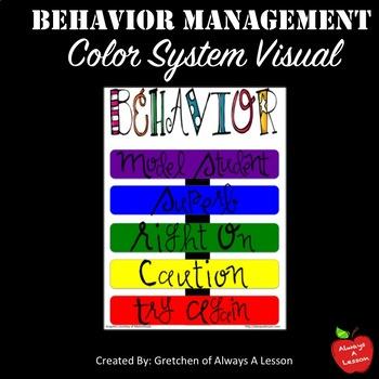Behavior Management Color System Visual