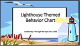 Beach theme Behavior Chart - Light House!